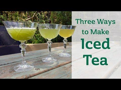 Three Ways To Make Iced Tea
