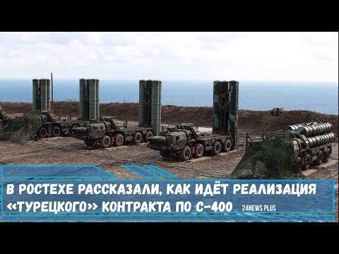В Ростехе рассказали, как идёт реализация «турецкого» контракта по ЗРК С-400