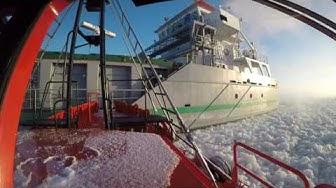 Finnpilot: Polaris Steenbank luotsi nousee alukseen