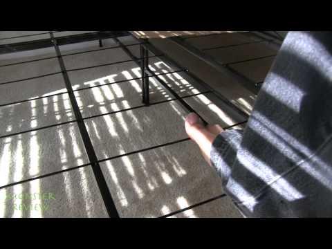 Cal King Jupiter 8in Memory Foam Mattress And Spa Sensation Frame Review