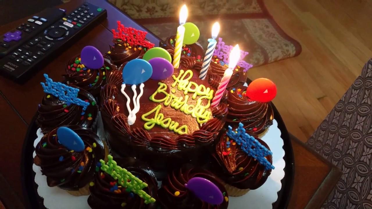 Sang Happy Birthday To Jesus On Christmas With Birthday Cake 2016