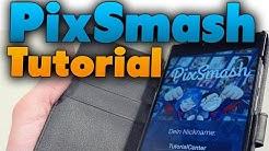 PixSmash Tutorial - 4 Bilder ein Wort gegen Freunde spielen (Werbung)