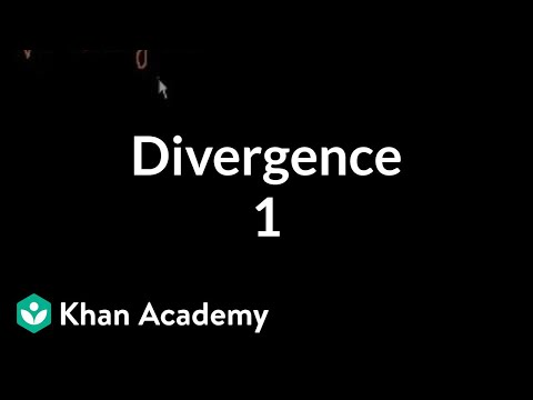 Divergence 1 | Multivariable Calculus | Khan Academy