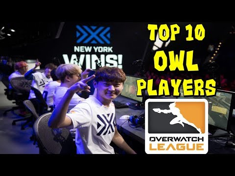 Top 10 Overwatch League Players REMASTERED!