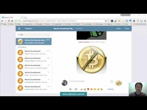 Grupo Telegram Bitcoin Investimento somente assuntos sobre Mineração