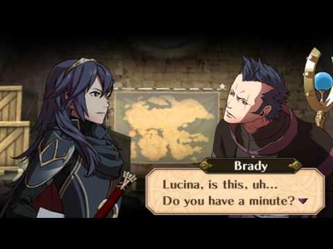 Fire Emblem Awakening - Brady (Brother) & Lucina (Sister) Support Conversations
