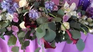 Свадебная флористика. Композиция на президиум