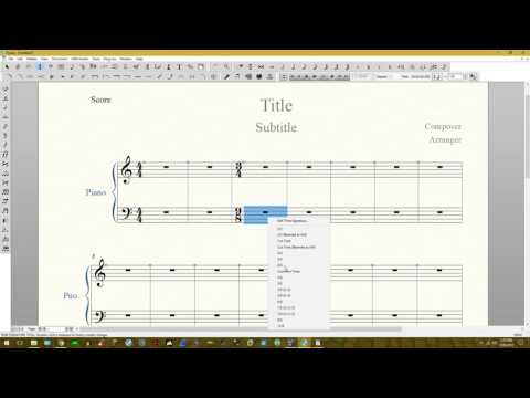 Finale v25: How to make two time signatures at once