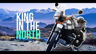 TRAIN SONG   GULLY BOY   KING IN THE NORTH   ROYAL ENFIELD HIMALAYAN BECOMES MY FIRST RIDE!