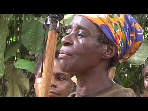 Baka Pygmy women singing Yelli (forest yodelling)