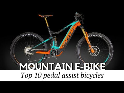 Top 10 Electric Mountain Bicycles with Pedal Assist Technology (2018 Buying Guide)