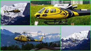 SPECIAL ECUREUILE AS-350 B3 RC SCALE HELICOPTER MODEL