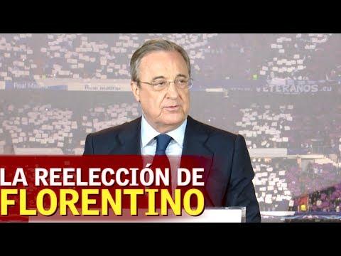 Discurso íntegro de Florentino Pérez en su reelección como presidente del Real Madrid | Diario AS