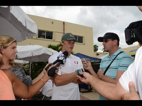 Kevin Olsen - #CanesCamp Day 13 (Aug.20)