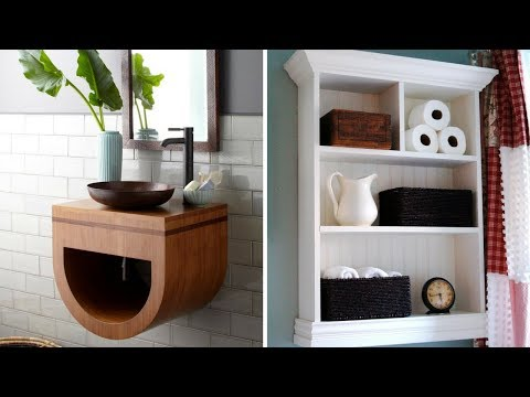 💖 5 Creative Wall Storage Ideas for Small Bathroom 💖