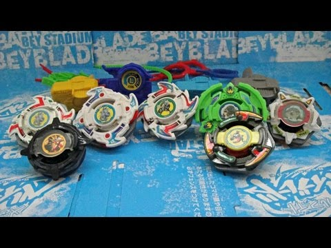 ~Bey-Unboxing: RARE Old School Beyblade Lot! (Dragoon Storm, Fantom, Victory & More!)
