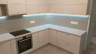 видео Светлая кухня