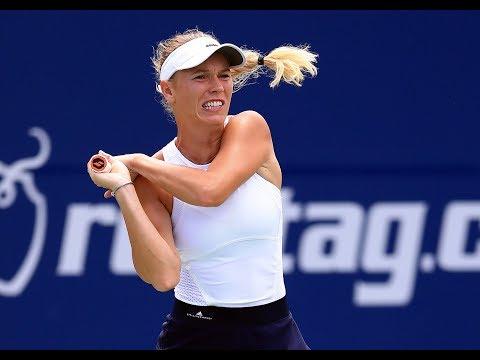 2017 Rogers Cup Semifinals | Caroline Wozniacki vs Sloane Stephens | WTA Highlights