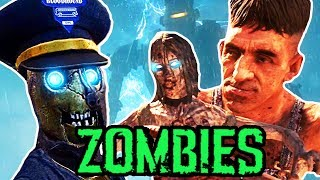 THE FORGOTTEN EASTER EGGS IN BO2 ZOMBIES (Call of Duty Zombies)
