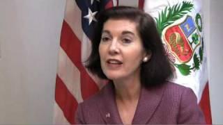 """""""Buscamos cubrir las necesidades del país"""", Linda González, Presidente Programa Fulbright Perú"""