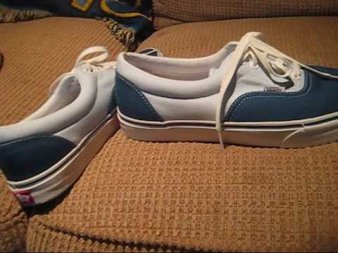 faa222dc7f5519 my new ERA vans shoes - YouTube