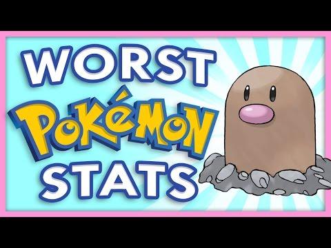 Worst Pokemon Stats
