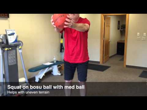 Stretches and exercises to help golfers, with Tony Becker, Privato Fitness. By Lori Nickel