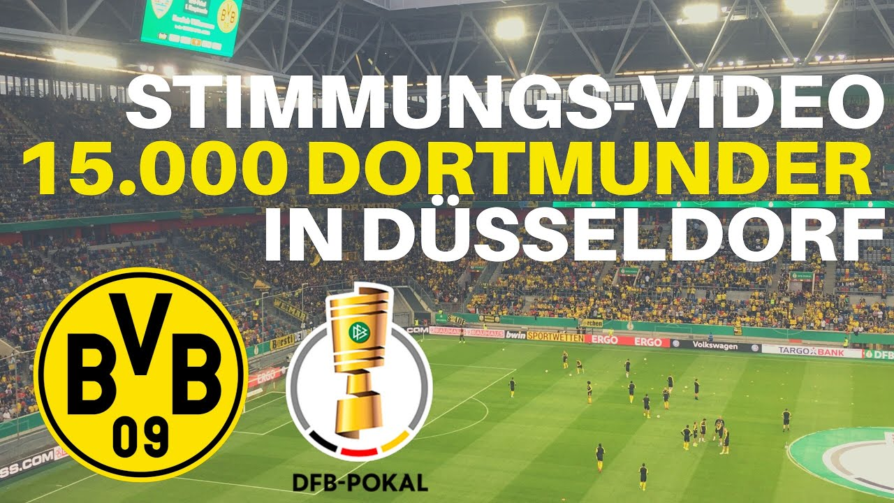 Stimmungsvideo: 15.000 Dortmunder in Düsseldorf | KFC Uerdingen - Borussia Dortmund (0:2)DFB Pokal