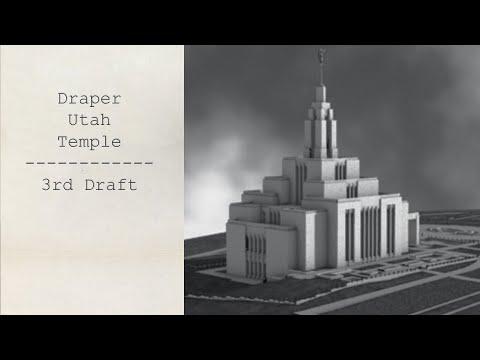 Draper Utah Temple Soft Light Test