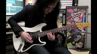 """Woman From Tokyo"" Cover And Heavy Rock Fender Strat Tones"