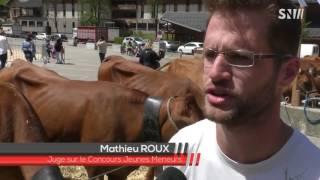 Comice agricole Beaufort 2017 : Anaïs Poccard, 1ère vainqueur du concours de Jeunes Meneurs