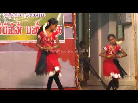 Santhosam Venuma Dance By  Seri  and Jeni