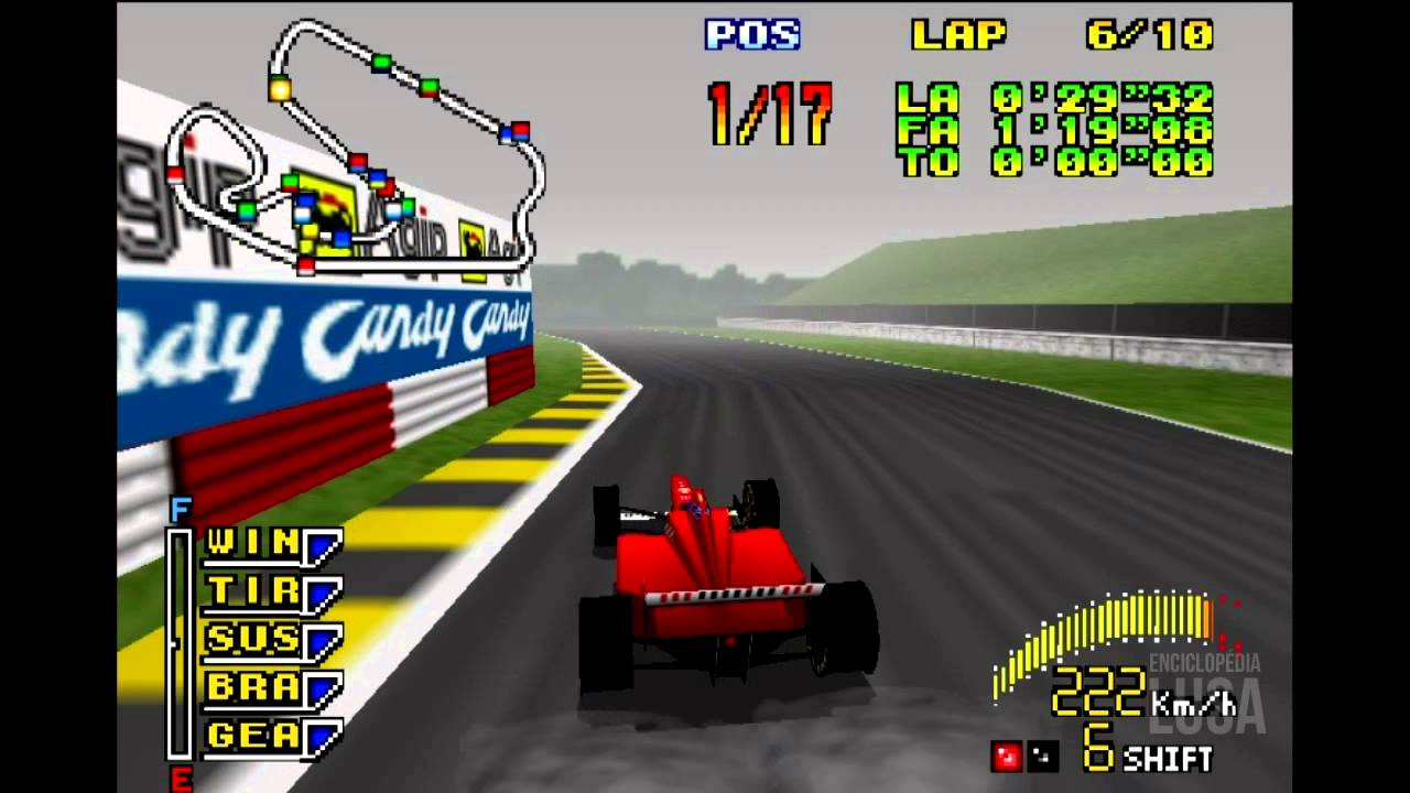 f1 pole position 64 1997 gameplay youtube. Black Bedroom Furniture Sets. Home Design Ideas