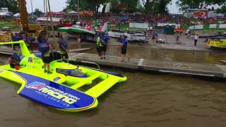 Watch hydroplanes race at the Madison Regatta