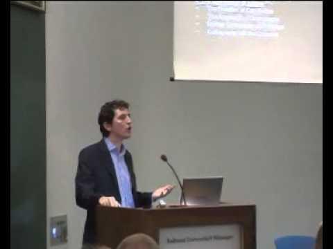 "Stuart Elden: Alexander von Humboldt Lecture: ""The Emergence of Territory"""