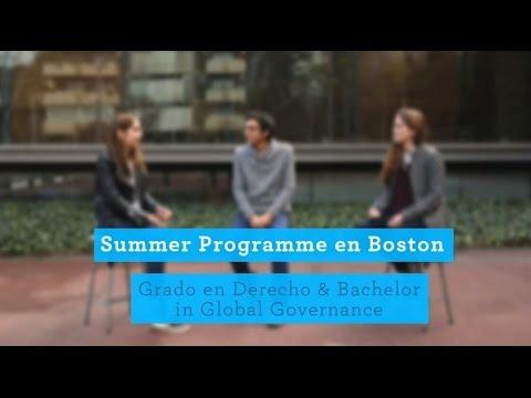 Summer Programme - Grado en Derecho & Bachelor in Global Governance