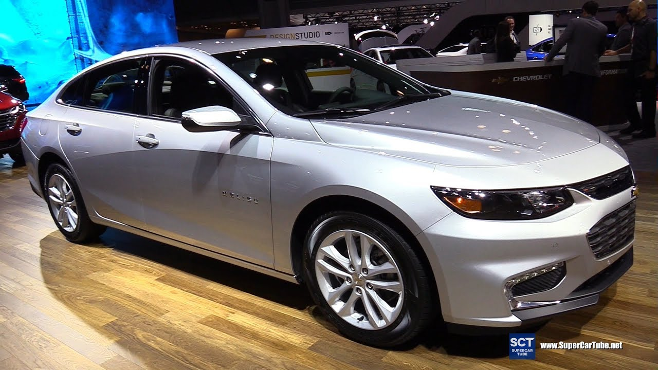 2017 Chevrolet Malibu Hybrid Exterior And Interior Walkaround New York Auto Show
