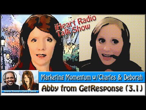 GetResponse for Email List Mgmt (Marketing Momentum 3.1) w/Abby Hartz! #SocialCafe
