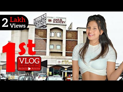 My First Vlog || Anjali Arora