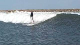 Tanker Wave Surfing Texas_Wheat&Brian Very Nice Double Wave GBay IslandStyle 10 02 09