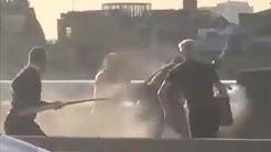 London Bridge: Passanten überwältigen Attentäter mit Feuerlöscher und Stoßzahn