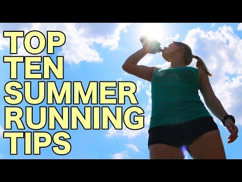 Top 10 Summer Running Tips
