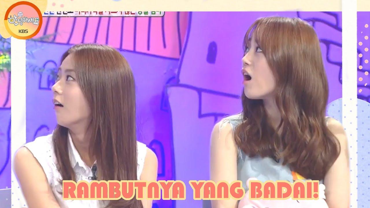 Rambutnya Yang Badai~ |Hello Counselor|SUB INDO|140818 Siaran KBS WORLD TV|