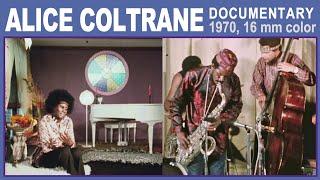 Alice Coltrane 16mm doc. 1970 (Black Journal) rare