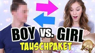 GESCHENKE TAUSCHPAKET! Boyfriend vs. Girlfriend EDITION! ♡ BarbaraSofie