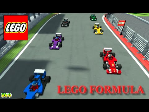 LEGO Speed Champions Gameplay | Best Kid Games | Lego Formula Cars Racing Game thumbnail