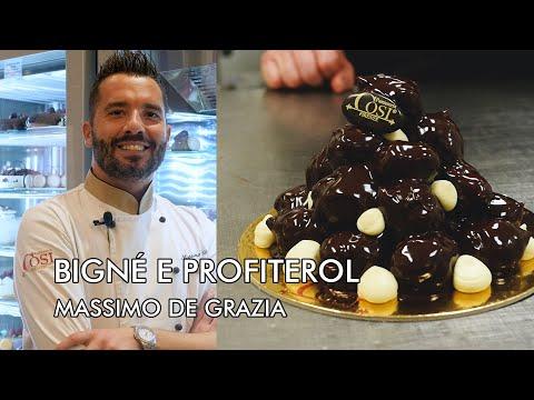 Bignè E Profiteroles, La Ricetta Di Massimo De Grazia Della Pasticceria Cosi Di Firenze