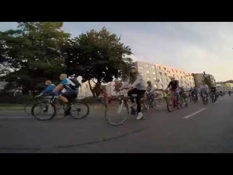 Critical Mass Wuppertal - September 2014