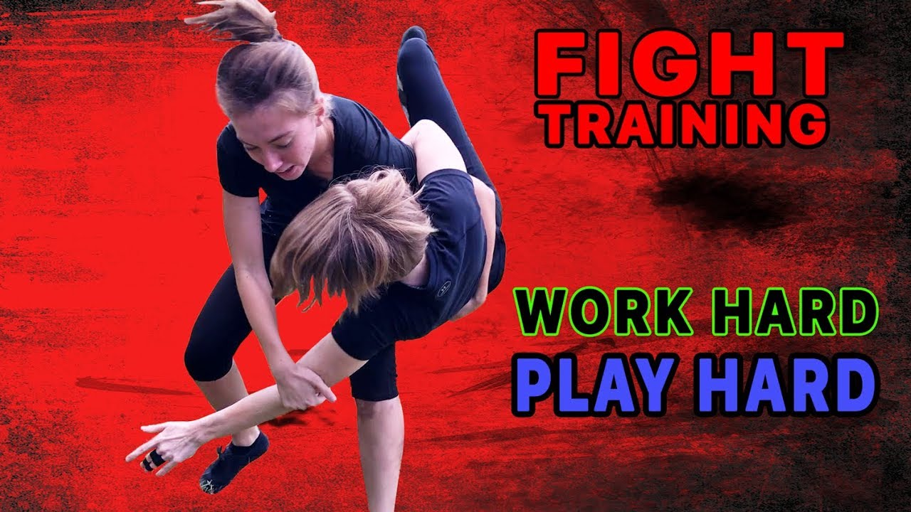 Women Fight Training—Work Hard Play —Core JKD 4 Hour Session