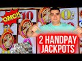 2 HANDPAY JACKPOTS On High Limit Slot Machines ! WINNING JACKPOTS In Las Vegas Casinos